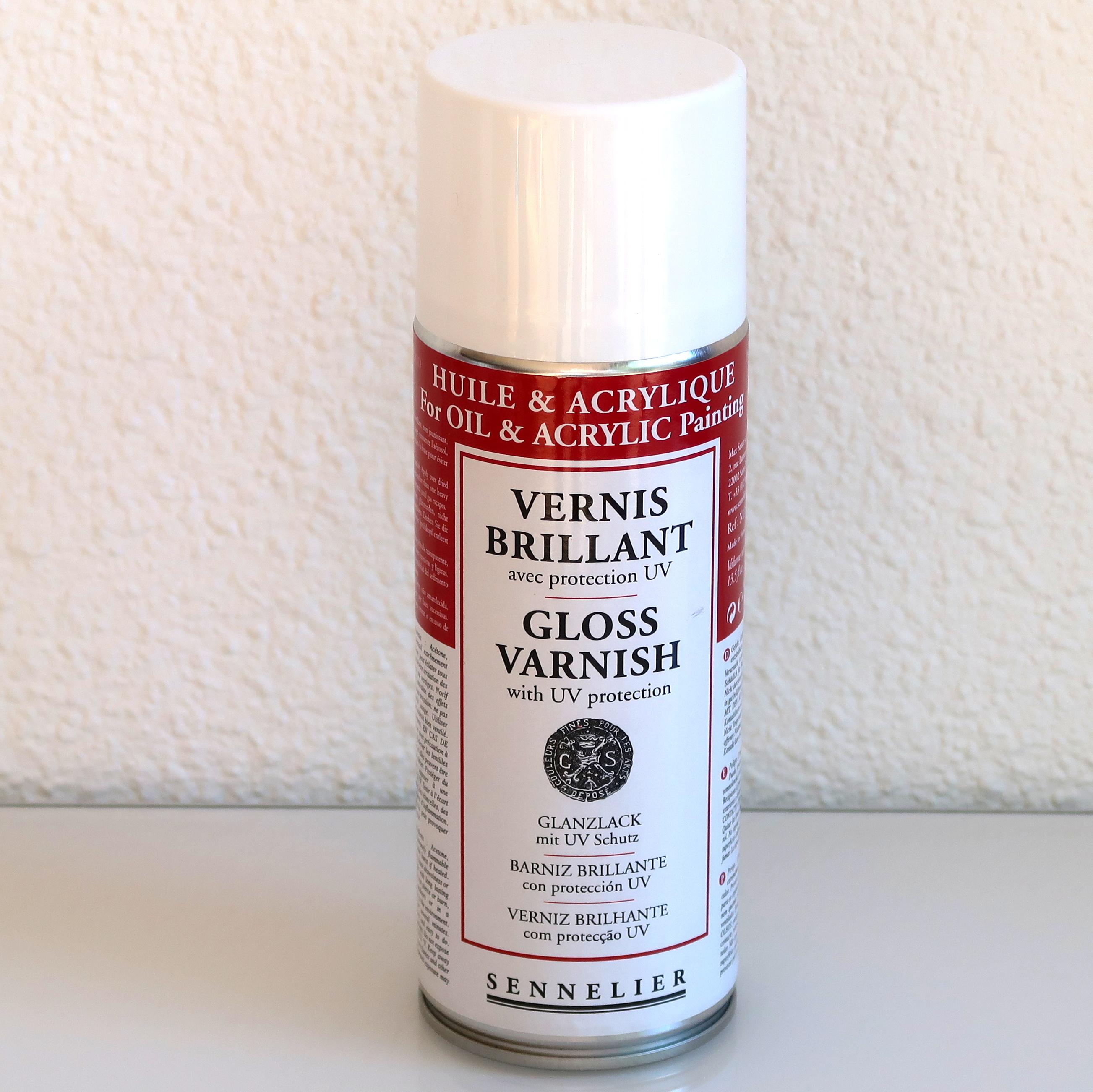Vernis en spray/ Spray varnish