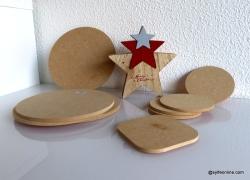 Supports en bois / wooden objects